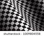 checkered flag wave design... | Shutterstock .eps vector #1009804558