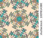 vector abstract seamless... | Shutterstock .eps vector #1009814380