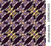 vector abstract seamless... | Shutterstock .eps vector #1009814410