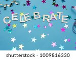 blue background party image... | Shutterstock . vector #1009816330