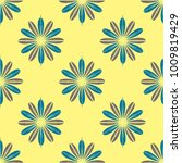 new color seamless pattern with ... | Shutterstock . vector #1009819429