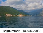 fjord in adriatic sea. our lady ... | Shutterstock . vector #1009832983