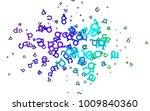 light multicolor  rainbow...   Shutterstock .eps vector #1009840360