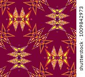 vector abstract seamless... | Shutterstock .eps vector #1009842973