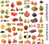 group of fruits in front of... | Shutterstock . vector #1009849846