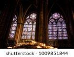paris   october 1  notre dame... | Shutterstock . vector #1009851844