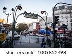 paris   september 05  2014 ... | Shutterstock . vector #1009852498