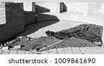 blur in iran antique palace and ... | Shutterstock . vector #1009861690