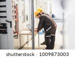 field service crew engineers... | Shutterstock . vector #1009873003