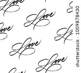 love. seamless pattern with...   Shutterstock .eps vector #1009878430