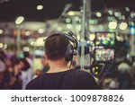 videographers are controlling... | Shutterstock . vector #1009878826