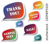 modern sale stickers and tags... | Shutterstock .eps vector #1009895320