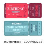 birthday party welcome  card...   Shutterstock .eps vector #1009903273
