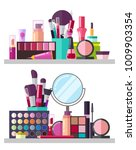 make up big collection  posters ... | Shutterstock .eps vector #1009903354