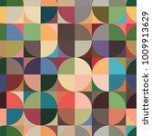seamless vector background with ... | Shutterstock .eps vector #1009913629