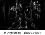 the weightlifter is preparing... | Shutterstock . vector #1009924084