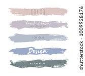 hand drawn grunge stripes | Shutterstock .eps vector #1009928176