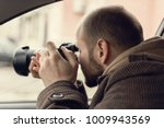 investigator or private... | Shutterstock . vector #1009943569