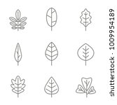 set of monochrome icons with... | Shutterstock .eps vector #1009954189