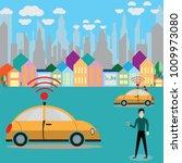 vector illustration of a smart... | Shutterstock .eps vector #1009973080