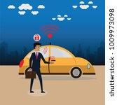 vector illustration of a smart...   Shutterstock .eps vector #1009973098
