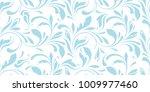 floral pattern. flowery... | Shutterstock .eps vector #1009977460