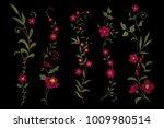traditional folk flower... | Shutterstock .eps vector #1009980514