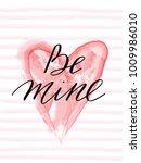 Be Mine Valentines Day Greetin...