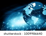 best internet concept of global ... | Shutterstock . vector #1009986640
