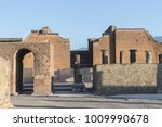 Small photo of Pompei, Campania / Italy - 20 August 2016: Archeological site of Pompei