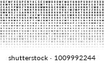 abstract halftone texture with... | Shutterstock .eps vector #1009992244