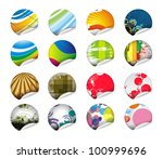 mega collection of sale tag... | Shutterstock .eps vector #100999696