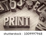 print word abstract in vintage... | Shutterstock . vector #1009997968