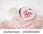 breakfast for valentine's day.... | Shutterstock . vector #1010002600