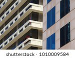 two office building in a...   Shutterstock . vector #1010009584