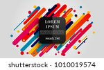 vector  abstract geometric...   Shutterstock .eps vector #1010019574