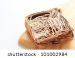 chocolate bread | Shutterstock . vector #101002984