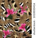 Texture Print Fabric Striped Zebra - Fine Art prints