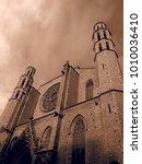 santa maria del mar church in...   Shutterstock . vector #1010036410