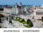 Aerial View Of Ottawa's...