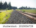 An Old Train Tracks Leading...