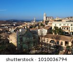 view of the city of girona ...   Shutterstock . vector #1010036794