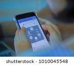 prachuap khiri khan  thailand   ... | Shutterstock . vector #1010045548