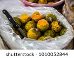 tucuma in manaus market   fruit ... | Shutterstock . vector #1010052844
