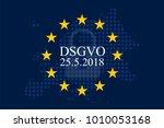 general data protection... | Shutterstock .eps vector #1010053168