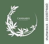 marijuana  cannabis logo... | Shutterstock .eps vector #1010074660