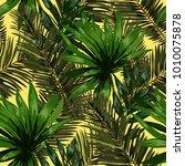 watercolor seamless pattern... | Shutterstock .eps vector #1010075878