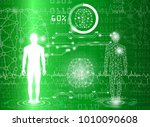 abstract background technology... | Shutterstock .eps vector #1010090608