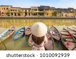 tourist is traveling and... | Shutterstock . vector #1010092939
