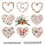 floral hearts collection  8...